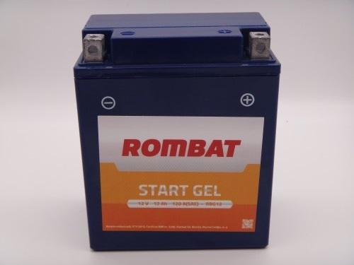 Baterie Motociclete Start Gel Rombat