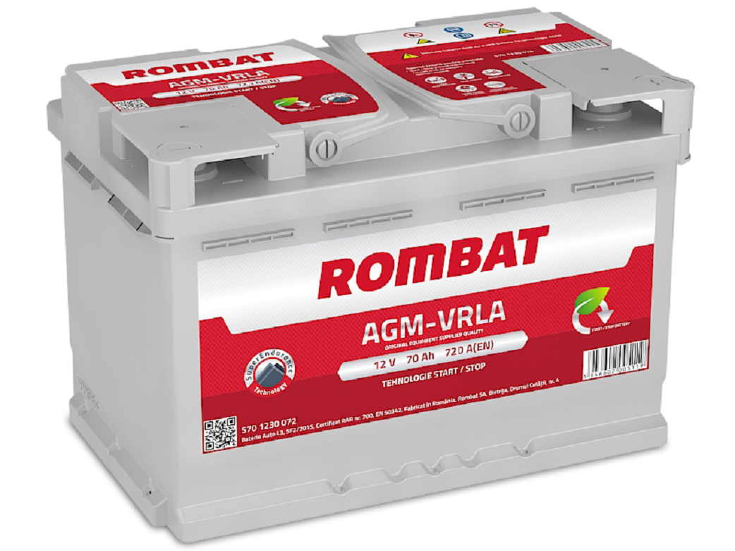 Baterie Automobile AGM Rombat