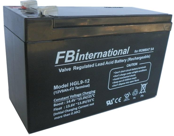 Iconita Baterie Speciale Stationar Rombat