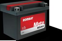 Baterii moto Rombat